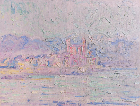 Signac Paul, Antibes. Matin, 1903