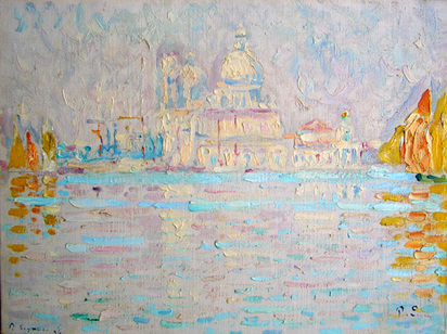 Signac Paul, Venise, 1904