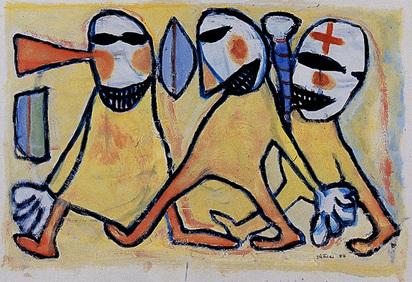 Schärer Hans, Ohne Titel, 1984