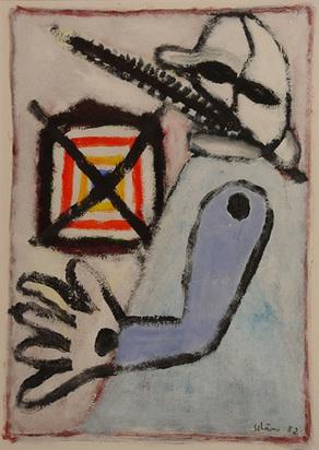 Schärer Hans, Ohne Titel, 1982