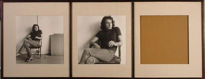 Mapplethorpe Robert, Triptych Portrait of Brice Marden, 1976