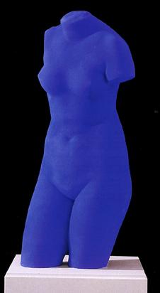 Klein Yves, La Vénus d'Alexandrie (Vénus Bleue), 1982