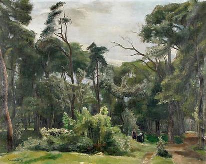 Brianchon Maurice, Le bois (No 1), 1927