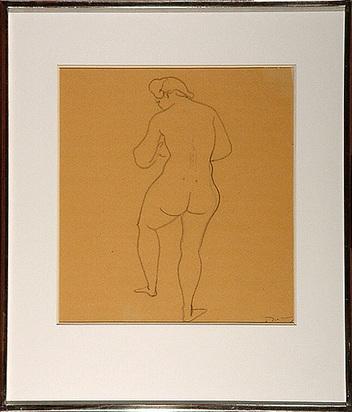 Derain André, Femme nue de dos