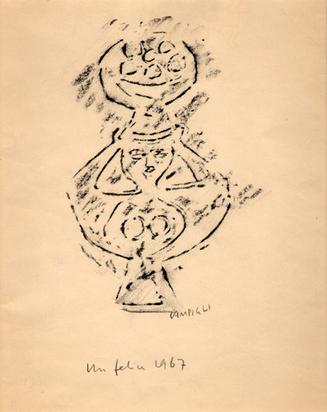 Campigli Massimo, Donna, 1967