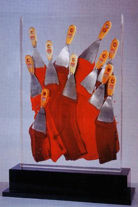 Arman, Accumulation de spatules
