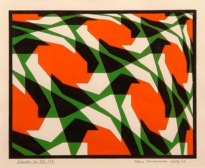 Hinterreiter Hans, Study to Opus 112, 1959/1973