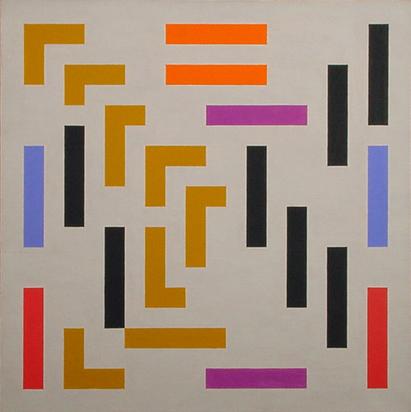 Loewensberg Verena, Composition No. 108, 1956