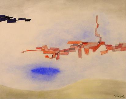 Singier Gustave, Sans titre, 1958