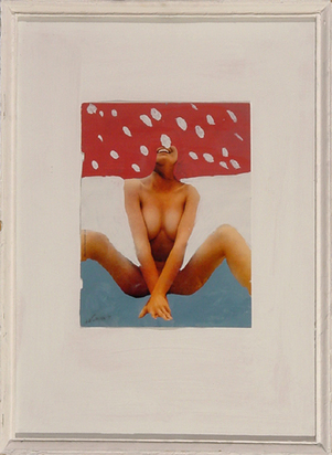 West Franz, Untitled (Nude with White Dots), 1978/79