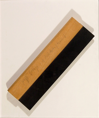 Beuys Joseph, 1 Wirtschaftswert (Squeegee)