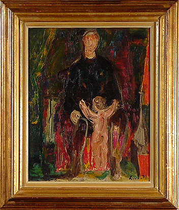 Herbst Adolf, Mother and Child
