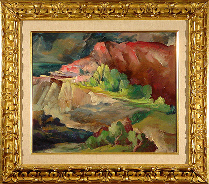 Bosshard Rodolphe Th., Paysage