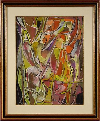 Lanskoy André, Composition sur fond noir
