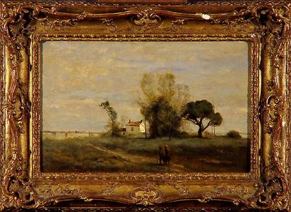 Corot J.-B. Camille, Souvenir de Vigen, 1960/63