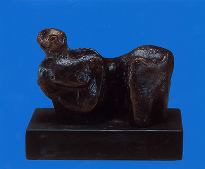Moore Henry, Reclining Figure, conceptred in 1935; cast after 1960