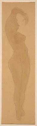 Rodin Auguste, Femme nue, 1900