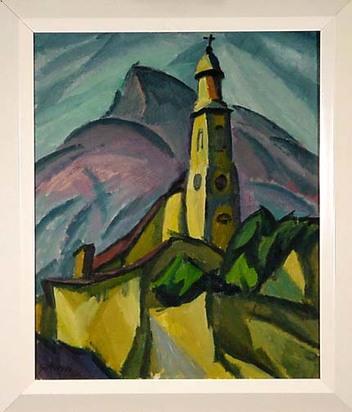 Gimmi Wilhelm, Eglise de Sion, 1912