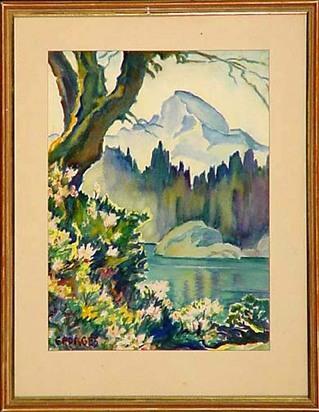 Porges Clara, Lago di Cavloccia