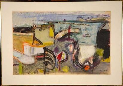 Falk Hans, Untitled, 1959