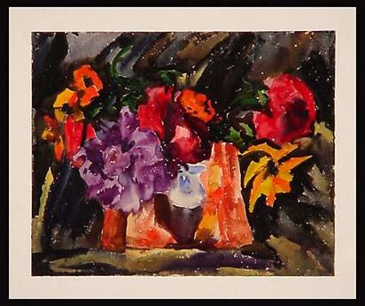 Wittwer-Gelpke Martha, Still Life with Flowers