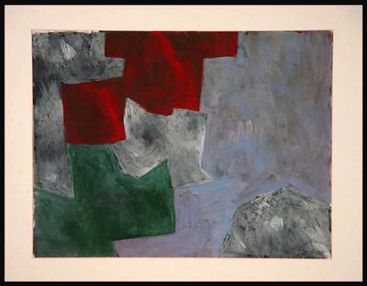 Poliakoff Serge, Vert, gris, brun, 1960