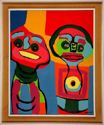 Appel Karel, Deux Personnages, 1969