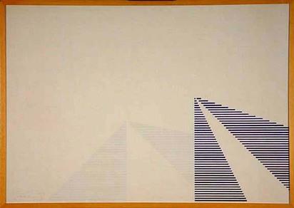 Boetti Alighiero, La metà è... unità mancante, 1975
