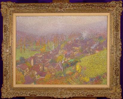Martin Henri, Automne sur La Bastide-du-Vert, approx. 1920