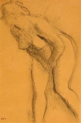 Degas Edgar, Etude de nu