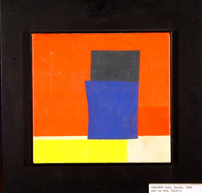 Valenti Italo, Studio, 1968