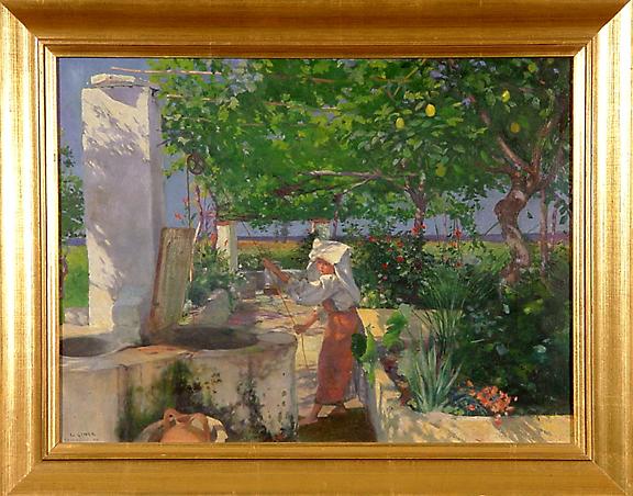 Liner Carl August, Terracina, 1898