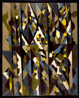 Gear William, Winter Hedgerow, 1951