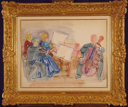 Dufy Raoul, Le Trio Casals, 1946