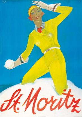 Carigiet Alois, St. Moritz