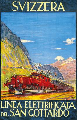 Svizzera - Linea Elettrificata del San Gottardo