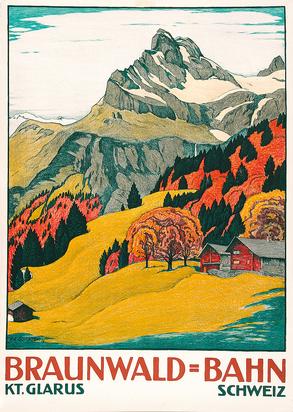 Braunwald-Bahn, Kt. Glarus Schweiz