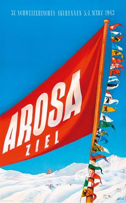 Malischke Otto, Arosa 37. Schweizerisches Skirennen 1943