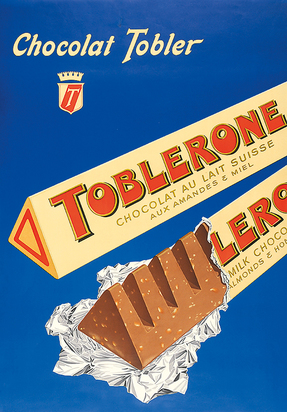 Chocolat Tobler - Toblerone