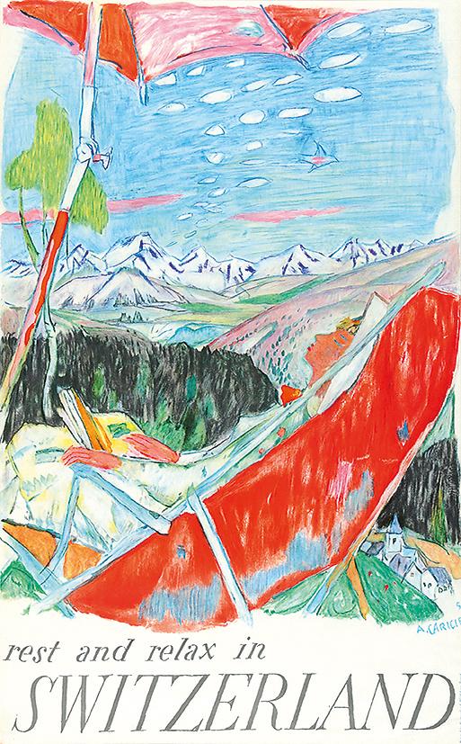 Carigiet Alois, Rest and Relax in Switzerland