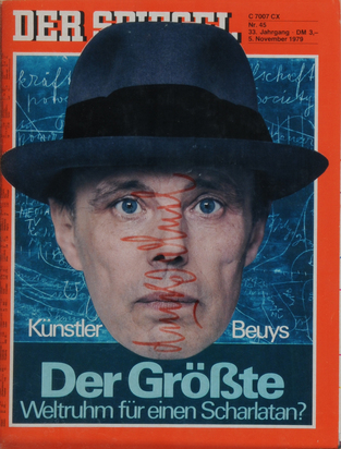 Beuys Joseph, Booklet. Der Spiegel, No. 45, 5. November 1979