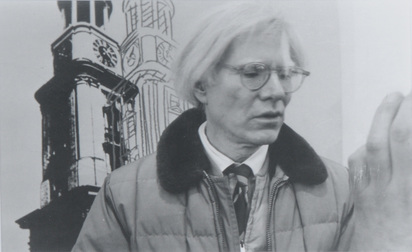 Behr Klaus, 2 photographs: Andy Warhol; Joseph Beuys