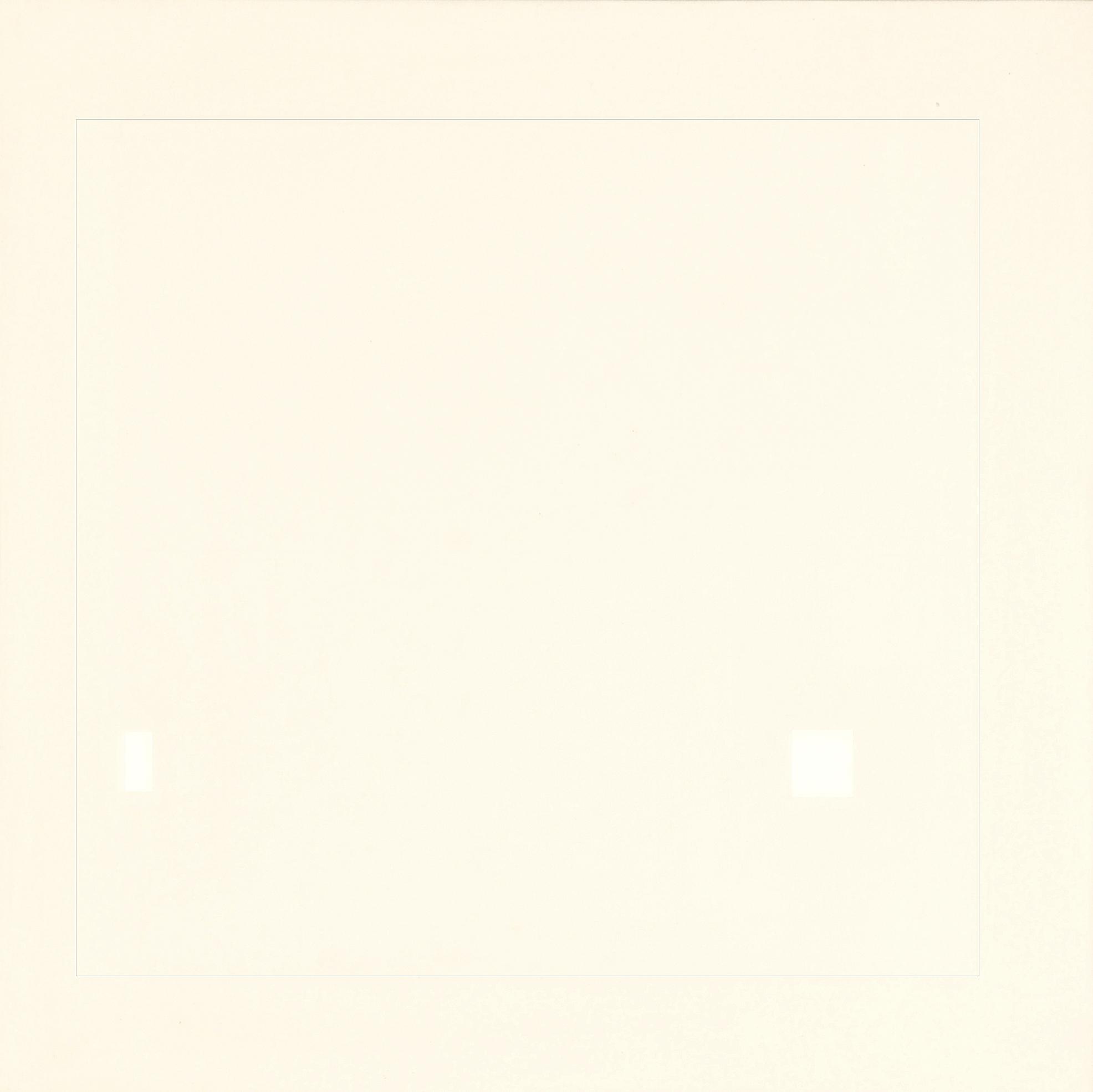 Calderara Antonio, Attrazione quadrata bianca nel rosa