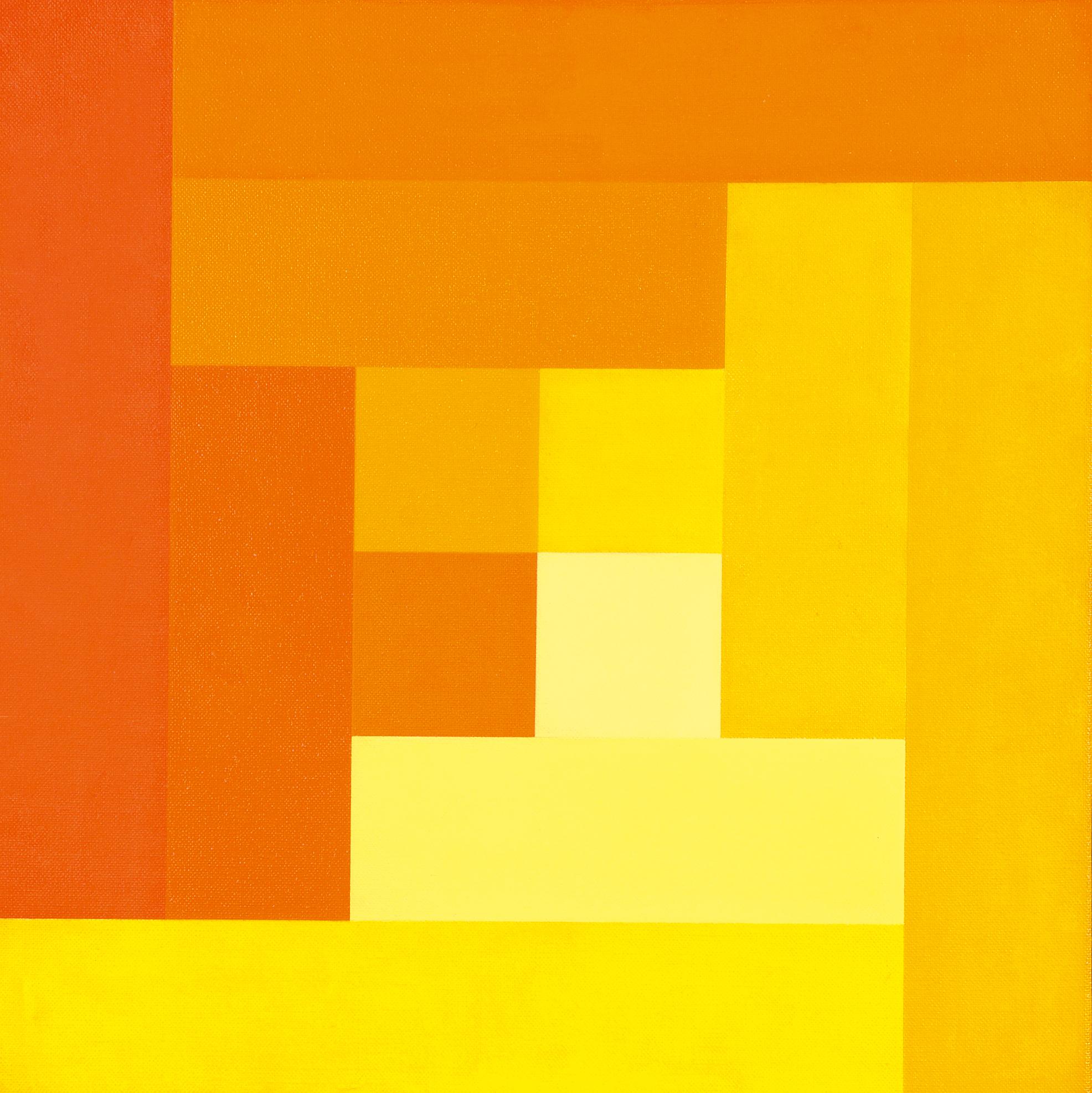 Lohse Richard Paul, Progression von vier gestuften Farben