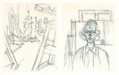 Giacometti Alberto, Portfolio. La double vue