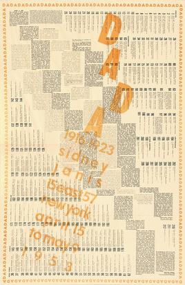 Duchamp Marcel, Poster. Dada 1916-1923 Sidney Janis New York