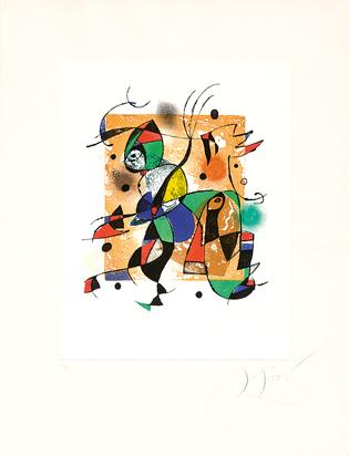 Miró Joan, Gaudí XVI