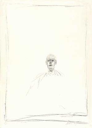 Giacometti Alberto, Buste homme II