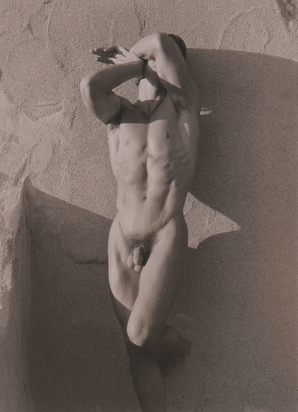 Ritts Herb, Male Nude, Frontal