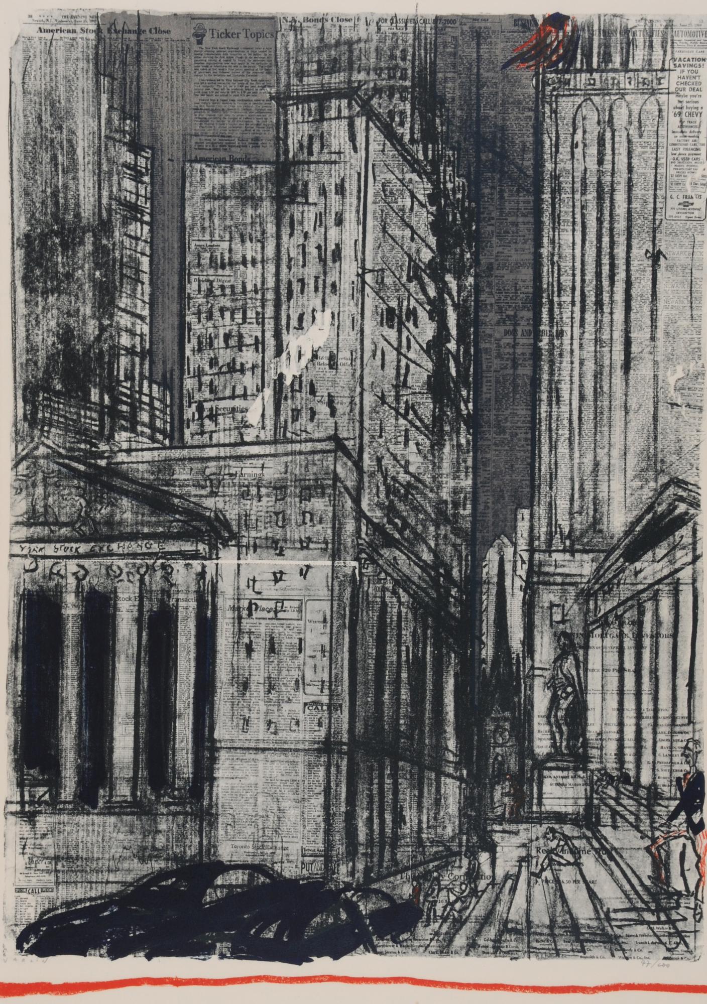 Varlin, Wall-Street